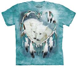 Mountain T-Shirt - Wolf Heart