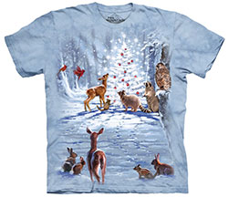 Mountain T-Shirt - Wilderness Christmas