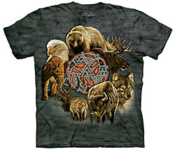 Mountain T-Shirt - Animal Spirit Circle