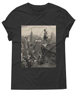NTVS T-Shirt - Concrete Wasteland by Steven Paul Judd