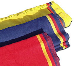 3-Band Wool Broadcloth