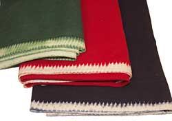 White Selvedge Wool Broadcloth