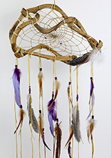 Wanderer Dream Catcher - Purple