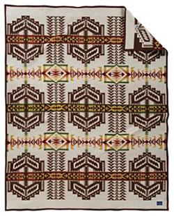 Pendleton Blanket - Arapaho Trail - Ivory