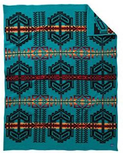 Pendleton Blanket - Arapaho Trail - Turquoise