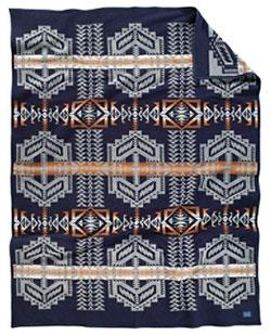 Pendleton Blanket - Arapaho Trail - Indigo