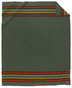 Pendleton Yakima Camp Blanket - Green Heather