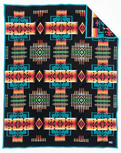 Pendleton Blanket - Chief Joseph - Black