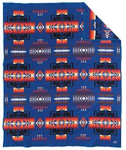 Pendleton Blanket - Chief Joseph - Sapphire