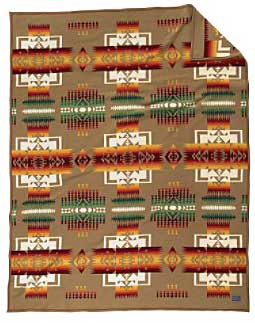 Pendleton Blanket - Chief Joseph - Tan