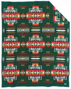 Pendleton Blanket - Chief Joseph - Forest