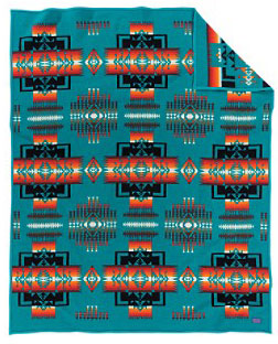 Pendleton Blanket - Chief Joseph - Turquoise