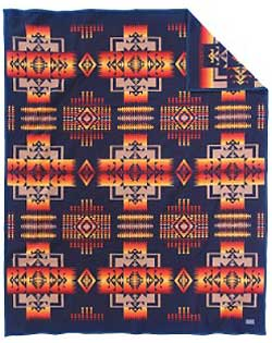 Pendleton Blanket - Chief Joseph - Indigo