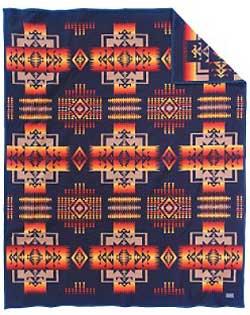 Pendleton Blanket - Chief Joseph - Indigo