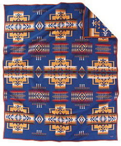 Pendleton Blanket - Chief Joseph - Denim