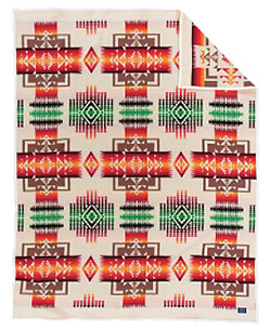 Pendleton Blanket - Chief Joseph - Ivory