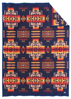 Pendleton Child's Blanket - Chief Joseph Muchacho - Indigo