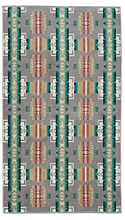 Pendleton Beach Towel - Chief Joseph Grey
