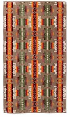 Pendleton Spa Towel - Chief Joseph - Khaki