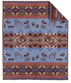 Pendleton Blanket - Newpaper Rock Robe