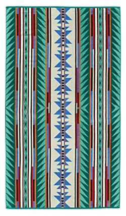 Pendleton Beach Towel - Turquoise Ridge