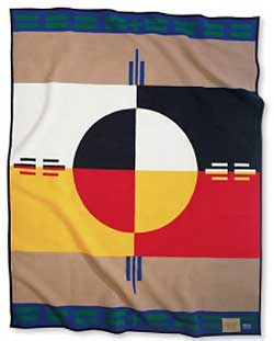 Pendleton Blanket - Circle of Life