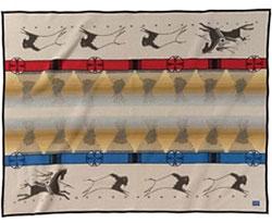 Pendleton Blanket - Lakota Way of Life