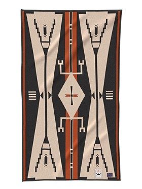 Pendleton Blanket - AICF Cheyenne Eagle Saddle Blanket