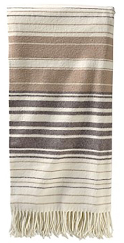 Pendleton 5th Ave Throw - Neutral Stripe