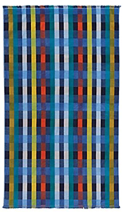 Pendleton Beach Towel - Laguna Plaid Tide