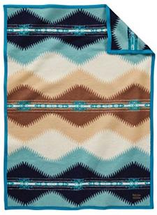 Pendleton Child's Blanket - Suguaro - Aqua