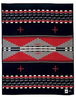 Pendleton Blanket - AICF Hidatsa Earth
