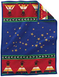 Pendleton Child's Blanket - Chiefs Road