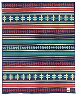Pendleton Blanket - AICF Ribbon Dance