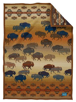 Pendleton Child's Blanket - Prairie Rush Hour