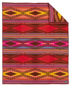Pendleton Blanket - Bright River Robe