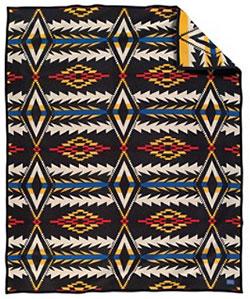 Pendleton Blanket - Midnight Eyes Robe