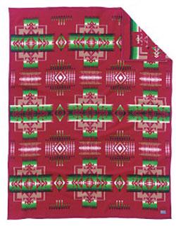 Pendleton Blanket - Chief Joseph - Cardinal