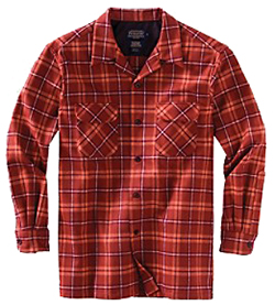 Pendleton Wool Board Shirt - Copper Plaid