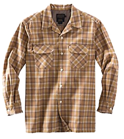 Pendleton Wool Board Shirt - Gold Ombre
