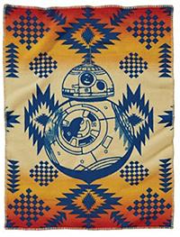Pendleton Star Wars Blanket - Padawan - BB8