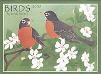 2008 Wall Calendar - Birds by Wendy Morgan