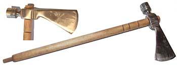 Iron Smoking Tomahawk - English Trader Octagonal Bowl