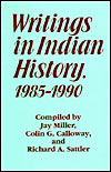 Writings in Indian History, 1985-1990